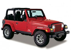 Jeep Wrangler TJ lift kits
