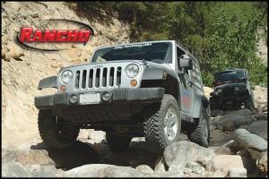 Rancho lift kits for Wrangler JK