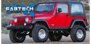 Fabtech lift kits for Jeep Wrangler TJ