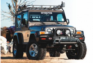 Wrangler TJ Skyjacker lift kits